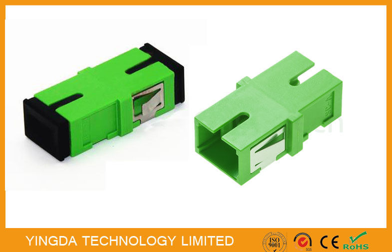 Fiber Optic Flange Adapter SC APC supplier