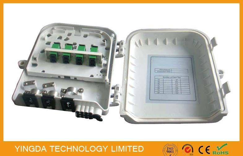Wall Mount PLC Fiber Optic Splitter Box