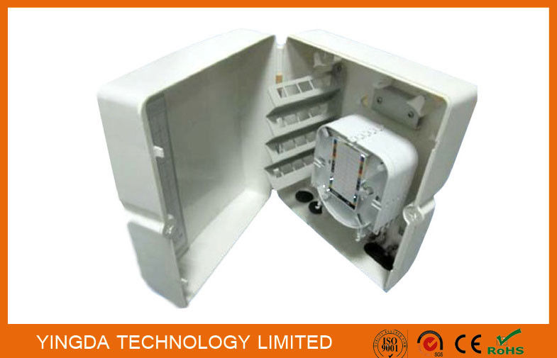 36 Fibers FTTH Optical Splitter Distribution Box, 1:8 PLC Fiber Optic Splitter Box supplier