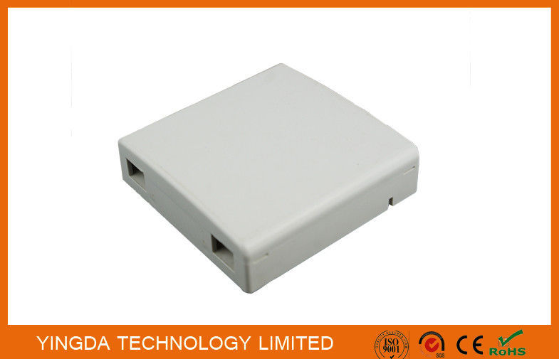 Fiber Optic Cable Wall Mount Box, FTTH 86 Wall Outlet Adaptor Interface SC FC supplier