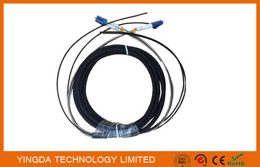 China DLC 2 Core FTTA Fibre Optic Patch Cord Outdoor For Base Sation distributor